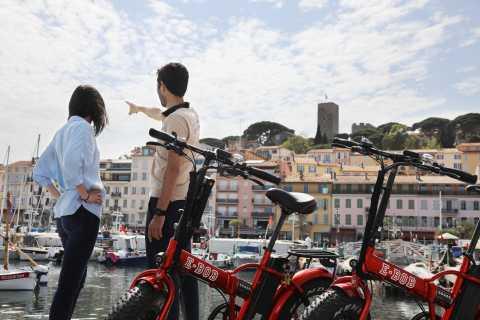 Tour en bicicleta de 2,5 horas en Cannes