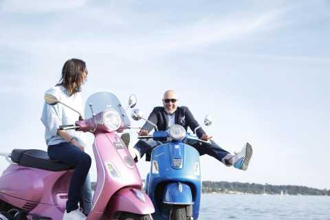 Tour de Cannes por la Vespa