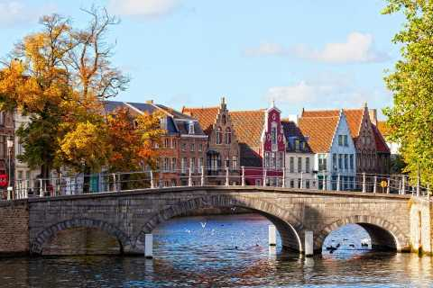 Brussels: Day Tour to Bruges with 4-Hour Guided Walk