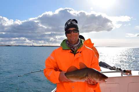 Pesca en aguas de Islandia de Reykjavik