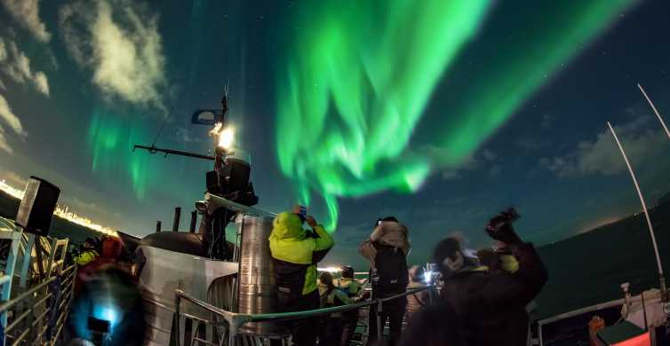 Northern Lights by Boat in Reykjavik