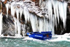 Passeio de barco a jato emocionante e traslados panorâmicos no Skippers Canyon
