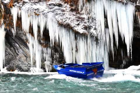 Skippers Canyon Thrilling Jet Boat Ride & Scenic Transfers