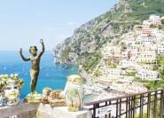 Vom Hafen von Neapel: Ganztägige Tour durch Pompeji und Amalfiküste