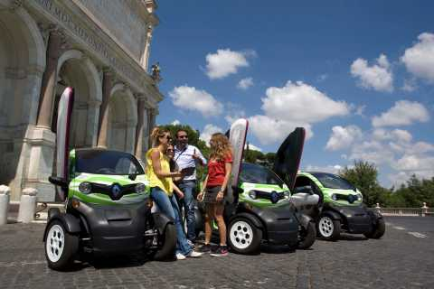 Rome: Electric Car Rental