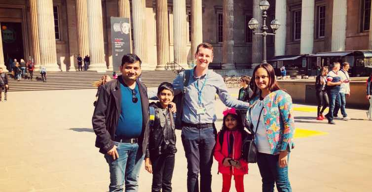 London: British Museum Small Group Tour for Kids & Families