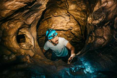 From San Carlos: Venado Caves Small Group Spelunking Tour