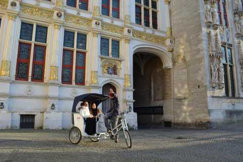 Brügge: Private Führung mit dem Fahrradtaxi