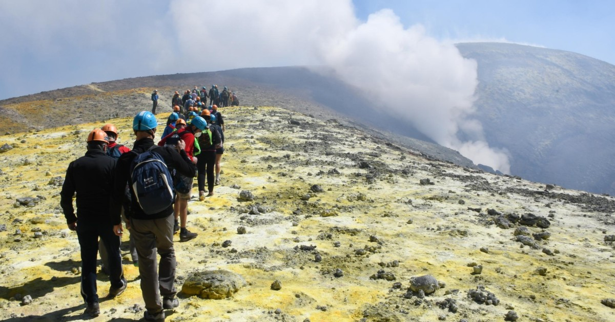 Mount Etna Summit And Crater Trek Catania Italy Getyourguide