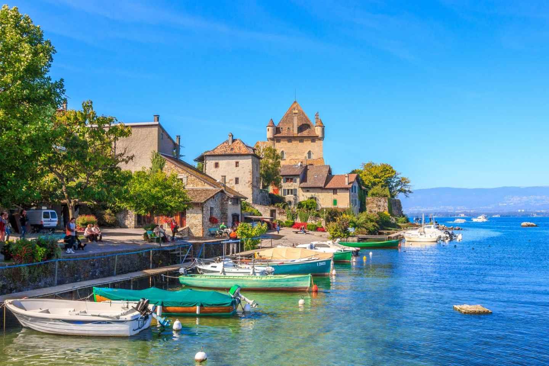 Privater Tagesausflug von Yvoire und Evian ab Genf