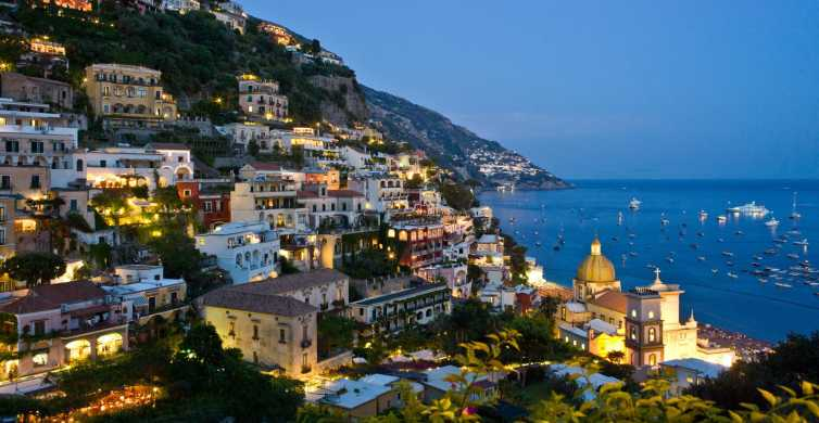 From Naples: Positano and Amalfi Coastal Towns Excursion