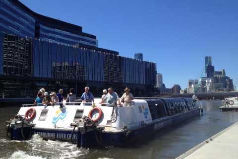 Port of Melbourne & Docklands Cruise with Coffee & Tea