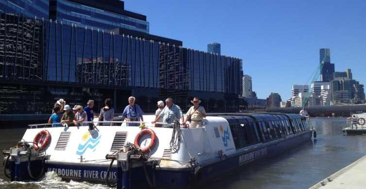 Hafen von Melbourne & Docklands: Bootstour mit Kaffee & Tee