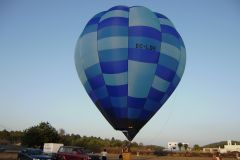 Passeio de balão de ar quente sobre Ibiza