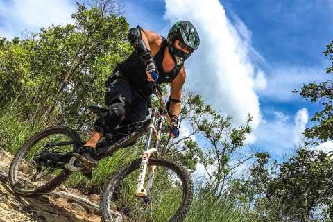 Doi Suthep Advanced Downhill Single Track Mountain Bike Ride