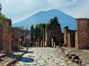 Neapel: Pompeji und Vesuv