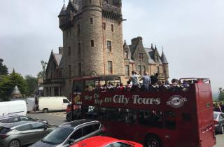 Belfast: 3-Tages-Ticket für Hop-On-Hop-Off-Bus mit Schloss