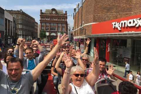 Belfast: 3-Day Hop-on Hop-off City Bus Tour with Castle