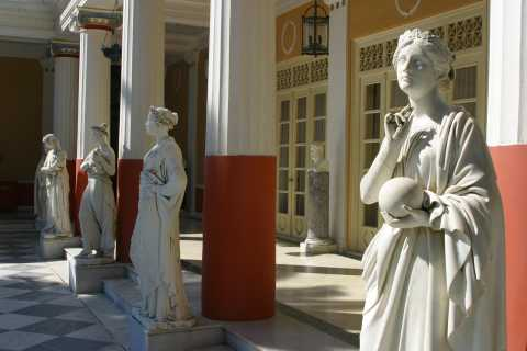 Corfu Island: Old Town and Achilleion Palace Coach Tour