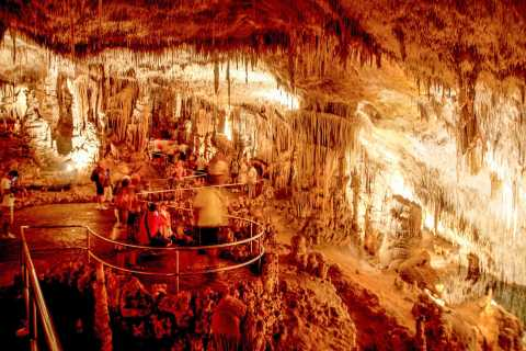 The Caves of Drach Full or Half-Day