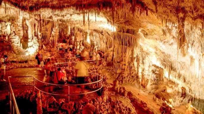 Tour de uno o medio día por las cuevas del Drach