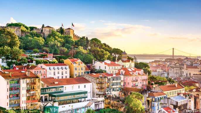 Lisboa: ticket sin colas con acompañante. Castillo S. Jorge