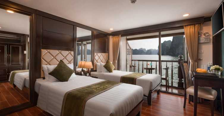 Halong Bay: Luxury 2-Day Cruise and Kayak from Hanoi