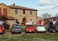 Florenz: Im Fiat 500 durch die Toskana mit Mittagessen