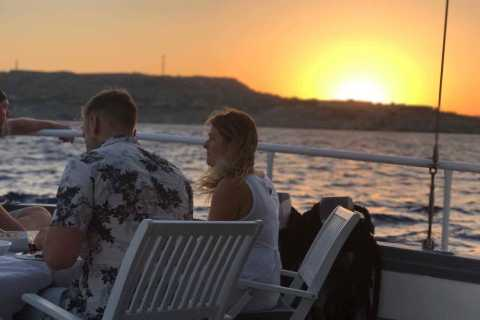 Rhodes: All Inclusive 3-Hour Sunset Dinner Cruise