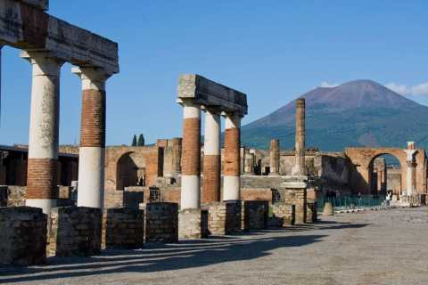Pompeii & Vesuvius: Full–Day Bus Tour