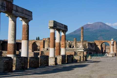 Pompei e Vesuvio: tour in autobus di 1 giorno