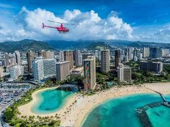 Oahu: 20-minütige Helikopter-Tour über Waikiki
