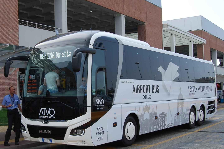 Express Bus-Transfer zwischen Flughafen Marco Polo & Venedig