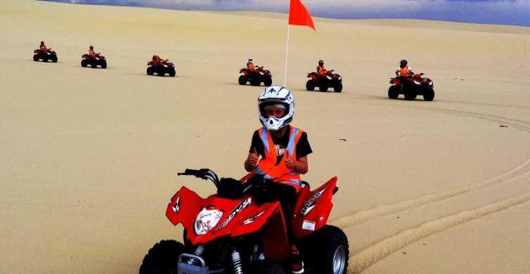 Port Stephens: Worimi Sand Dune Quad Bike Adventure