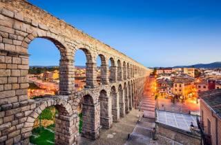 Ab Madrid: Ávila, Segovia & El Escorial - Tagestour