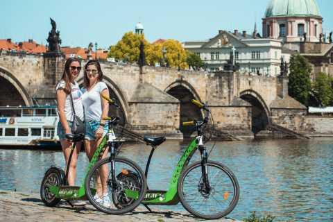 Praag E-scooter Hugo Bike Grand City Tour