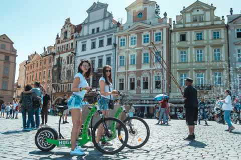 Praag: 2 uur E-Scooter HUGO Bike Small Group Tour
