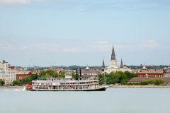 Nova Orleans: Passeio Barco a Vapor com Jazz e Brunch