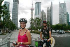 Excursão Privada de Bicicleta Clássica em Xangai por Todo o Dia