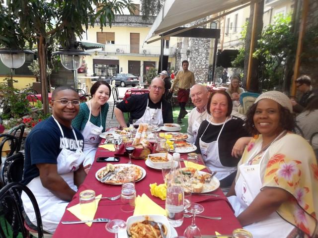 Taormina: Klasse voor het maken van een halve dag pizza