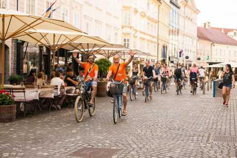 Liubliana: crucero de 3 horas en bicicleta