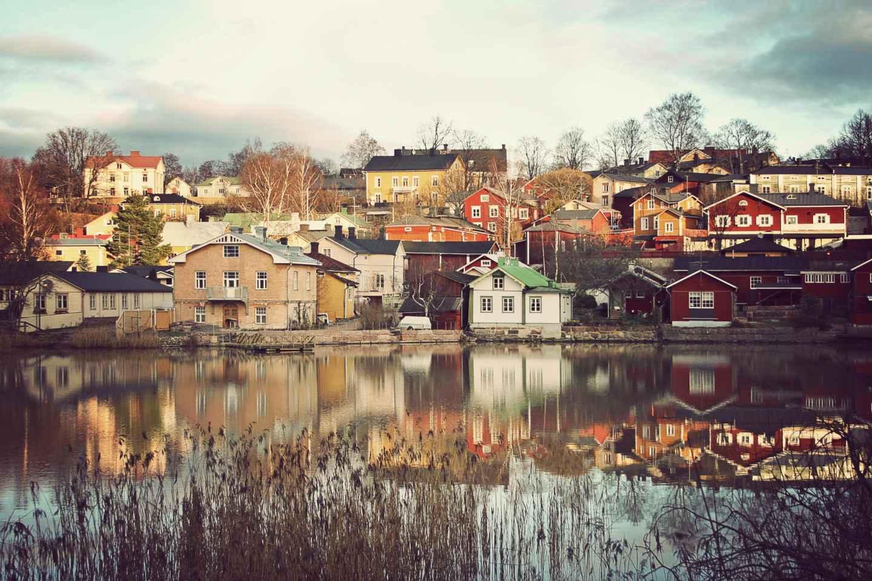 Ab Helsinki: Helsinki & Porvoo Sightseeing-Tagestour per Bus