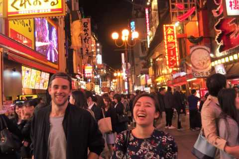 Osaka Bar Hopping Food Tour