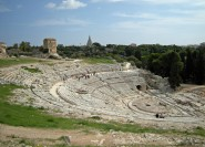 Ab Taormina: Geführter Tagesausflug nach Syrakus