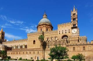 Ab Taormina: Tour nach Palermo und Cefalù