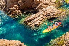 De Barcelona: Excursão de Caiaque c/ Snorkel na Costa Brava
