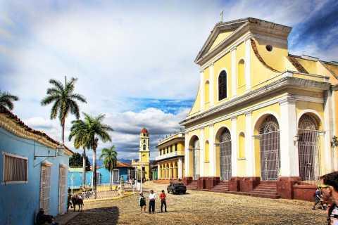 Desde Varadero: tour privado 1 día a Trinidad y Cienfuegos