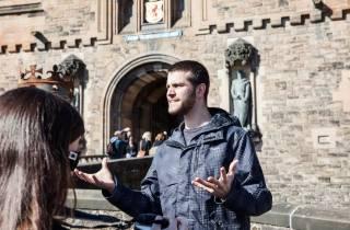 Schloss Edinburgh: Führung ohne Anstehen