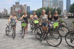 Excursão de bicicleta imperdível em Xangai e Foodie