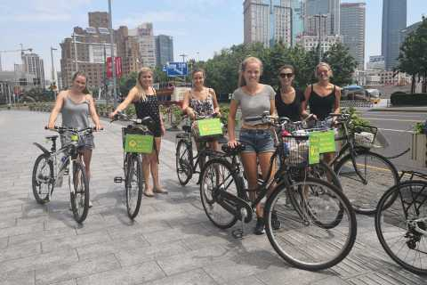Shanghai Must-See and Foodie Bike Tour
